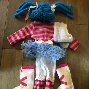 Other - Girls Lalaloopsy costume size 3-4T